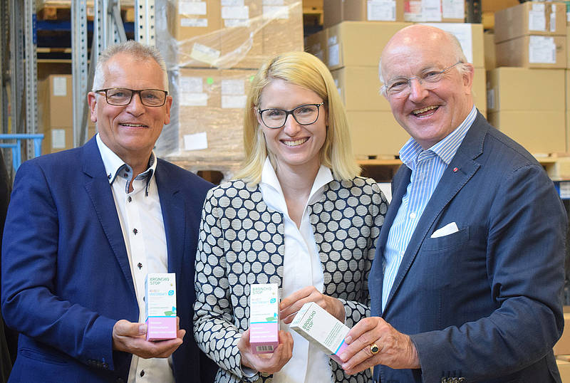 Beim Tee-Konsum ist Österreich Europameister – LR Haberlander besucht Kwizda