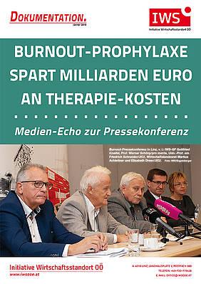 """Pressespiegel von der IWS-PK über """"Burnout-Prophylaxe"""""""